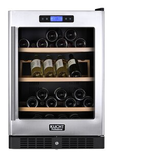54 Bottle Under The Counter Dual Zone Freestanding Wine Cooler