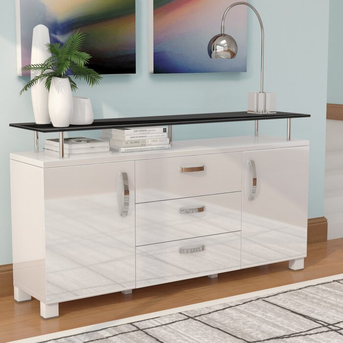 Dian Modern Credenza on consoles and credenzas, made in usa modern credenzas, modern sideboards with sliding door, country style credenzas, industrial modern credenzas, post modern credenzas, modern sideboards and hutches,