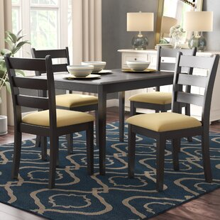 Oneill 5 Piece Ladder Back Dining Set by Andover Mills Reviews