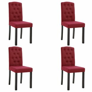 Roque Upholstered Dining Chair Set of 4