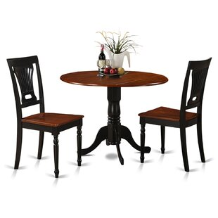 Dublin 3 Piece Dining Set by Wooden Importers Wonderful