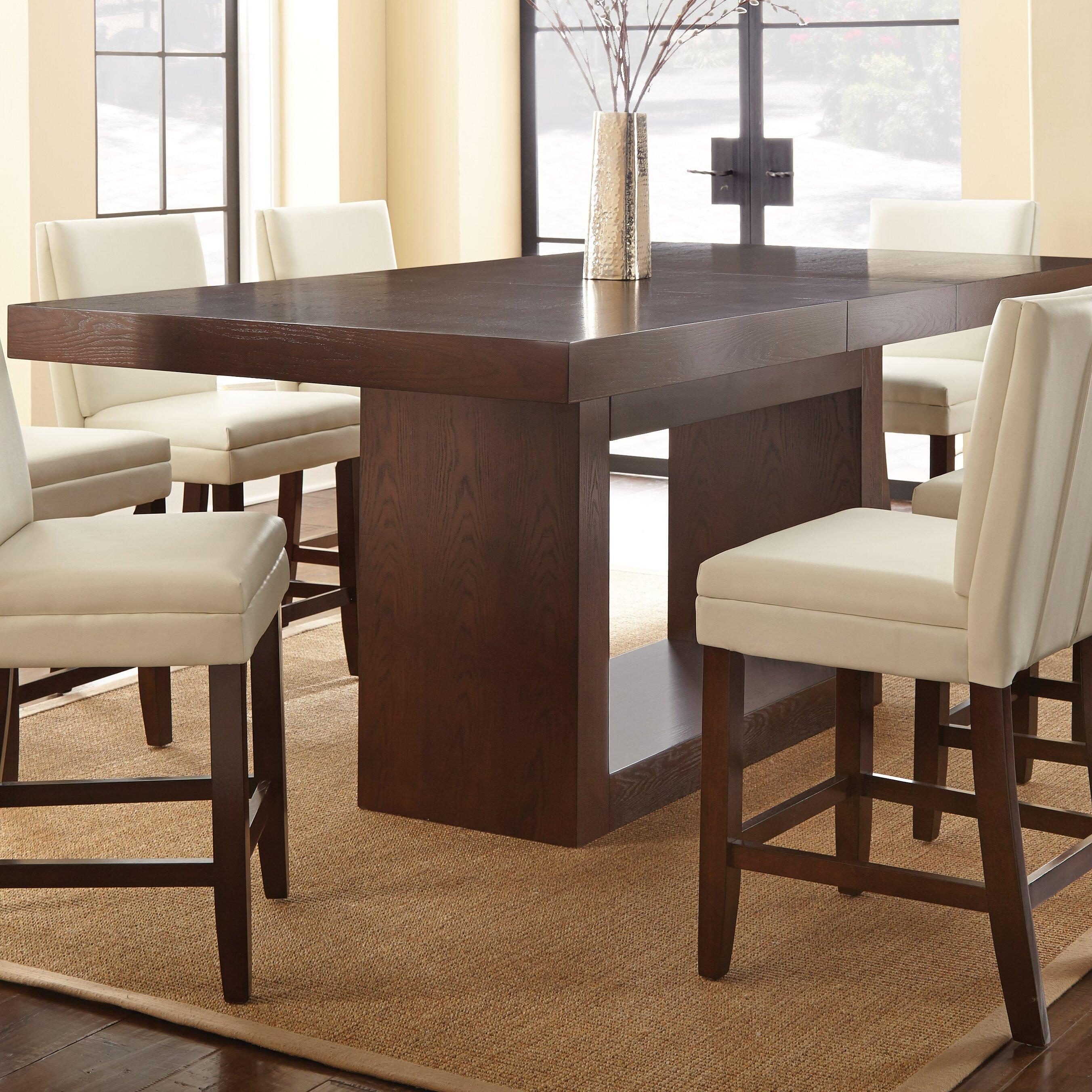Brayden studio maust counter height dining table reviews wayfair