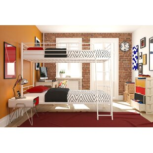 Ecker Convertible Twin over Twin Bunk Bed by Harriet Bee