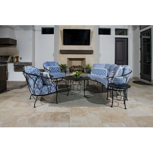 Delany 3 Piece Sofa Seeating Group with Cushions
