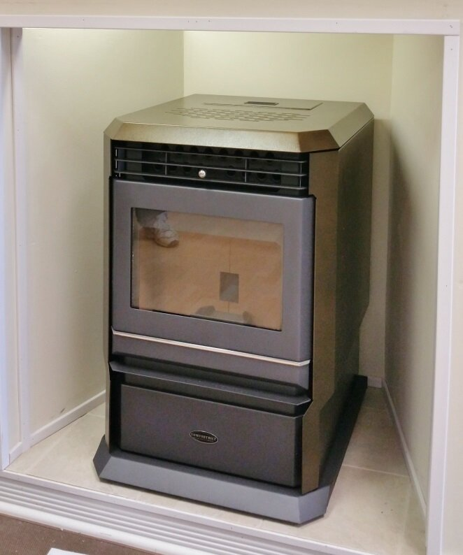ComfortBilt Pellet Stoves Direct Vent Wood Pellet Stove | Wayfair