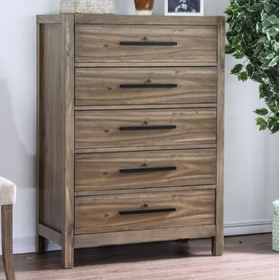 Compare prices Atchison 5 Drawer Chest by Foundry Select