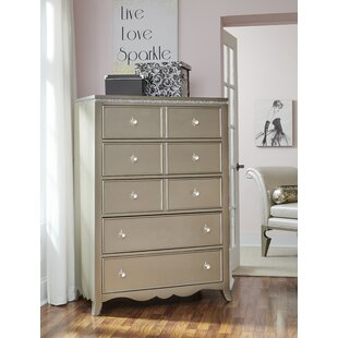Shop For Burchfield 5 Drawer Chest by House of Hampton Reviews (2019) & Buyer's Guide