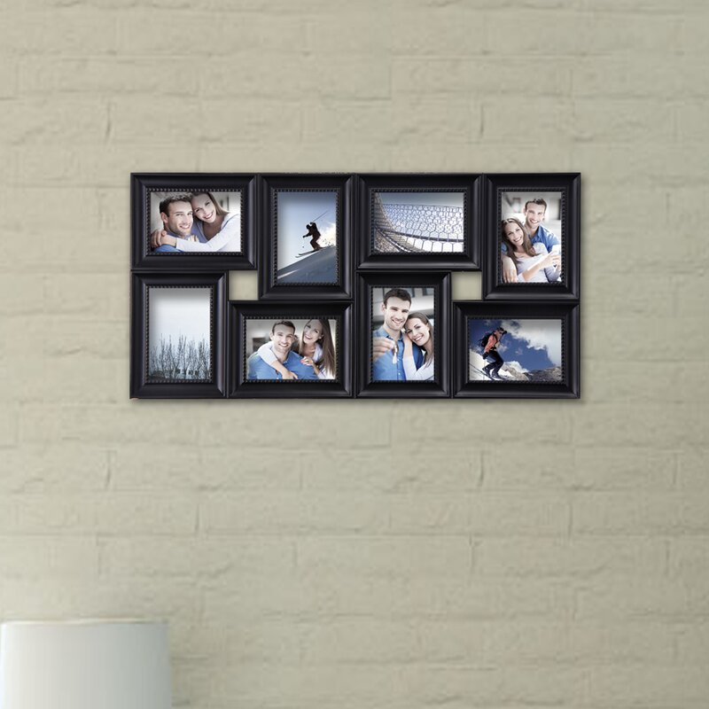 Adecotrading 8 Opening Decorative Wall Hanging Collage Detailed Picture Frame Reviews Wayfair