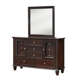 Albertine 11 Drawer Combo Dresser by Darby Home Co