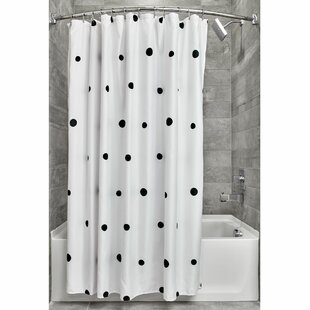 56464b641b2 Colombo Scattered Dots Single Shower Curtain