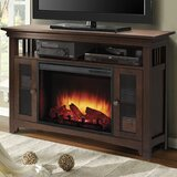 Wyatt TV Stand for TVs up to 50 with Fireplace Included by Muskoka