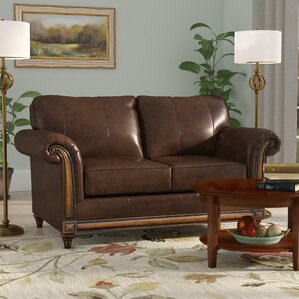 Simmons Upholstery Duwayne Loveseat by Three..