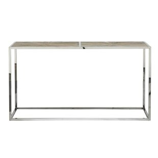 Review Milo Transitional Metal Console Table By Foundry Select