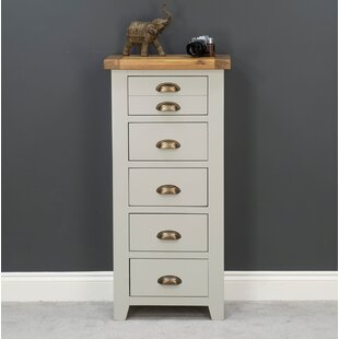 Choi Painted Oak 5 Drawer Chest