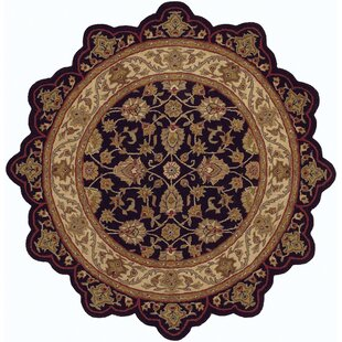 Shapes Black Ivory Persian Rug