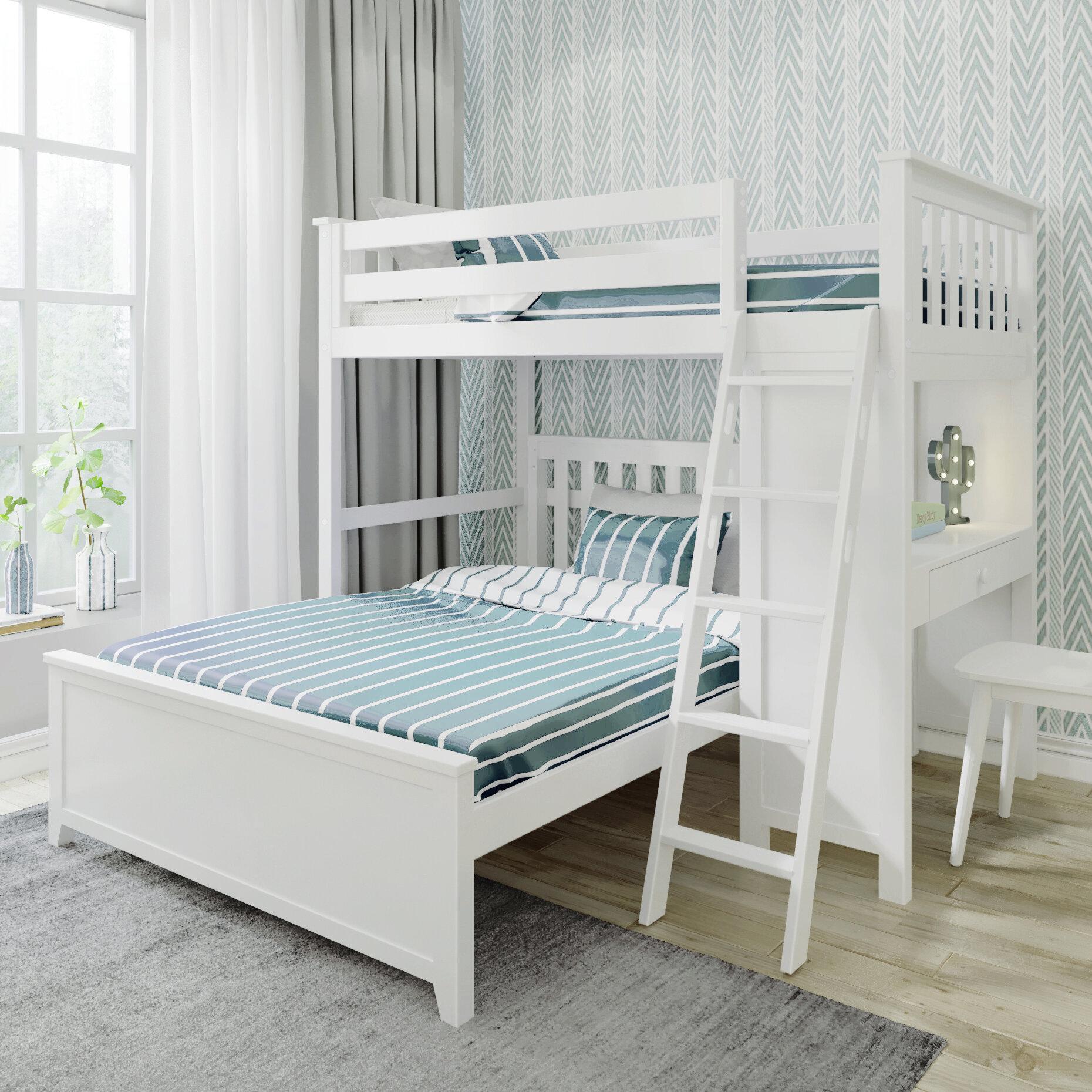 Download Kids Bunk Beds With Desk Background