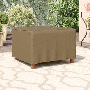 bf723649ff1 Wayfair Basics Square Patio Ottoman or Side Table Cover