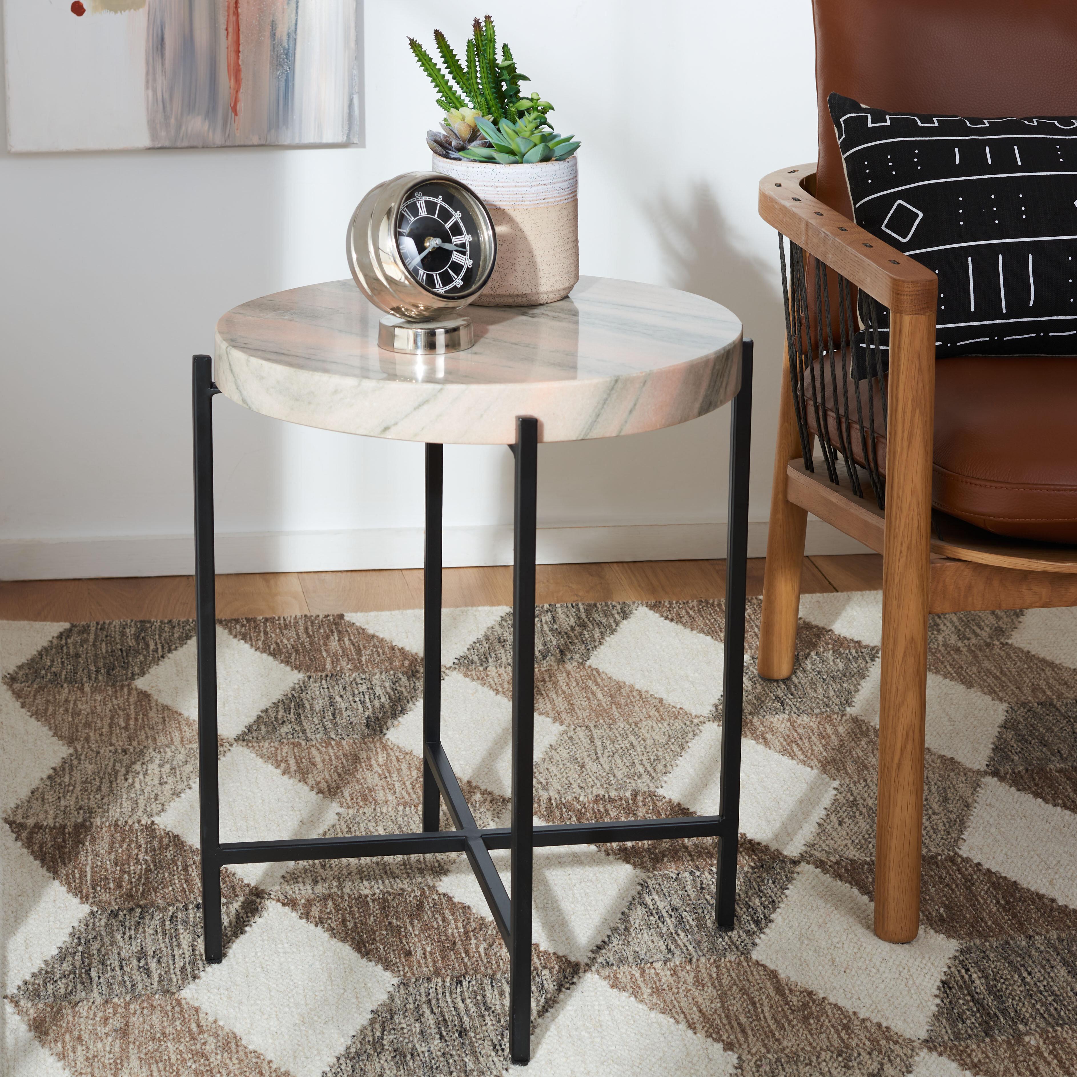 - Gotland Marble Top End Table Joss & Main