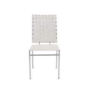 Amundsen Genuine Leather Upholstered Dining Chair (Set of 4) by Orren Ellis SKU:DB405860 Details