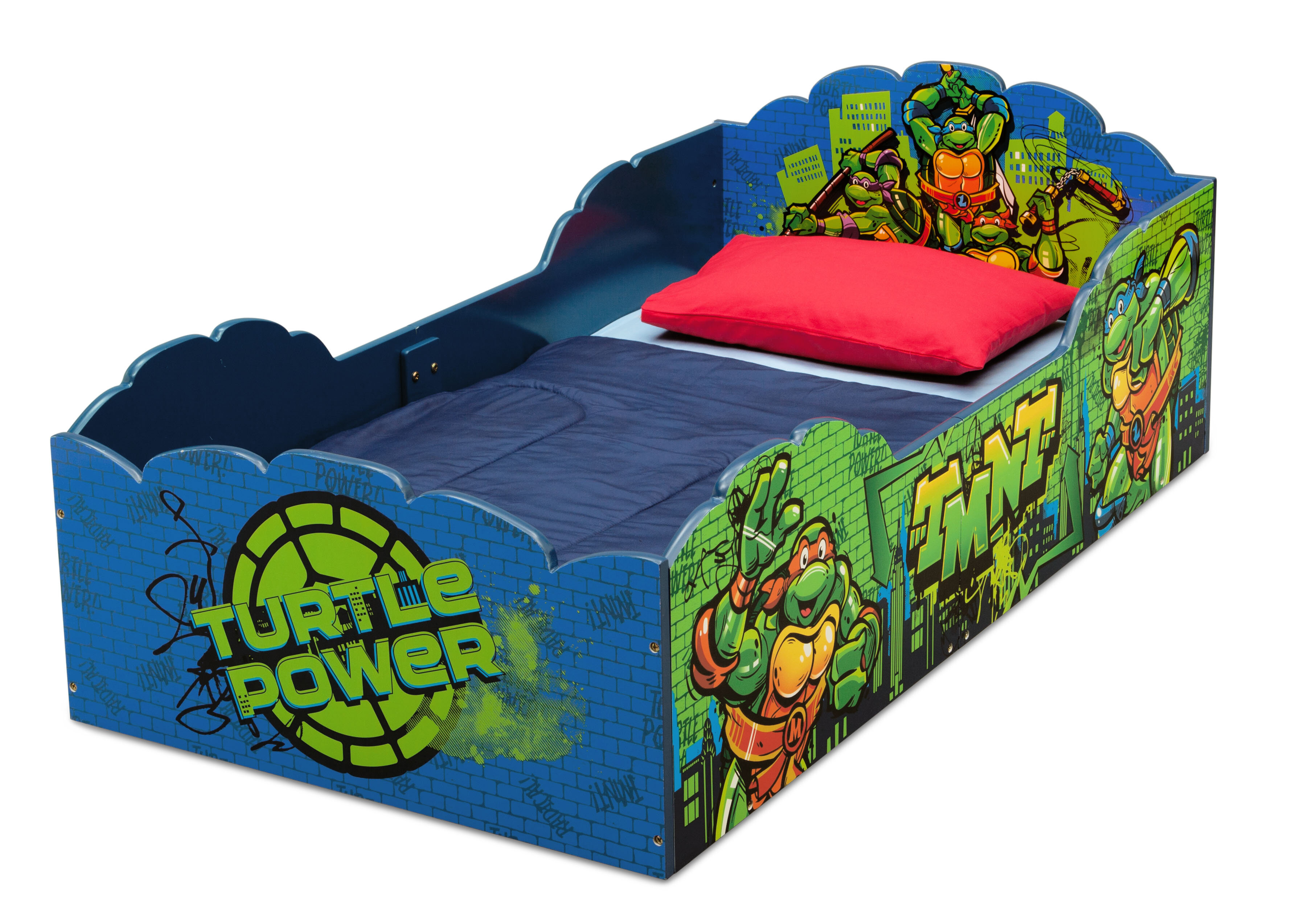 Delta Children Age Mutant Ninja Turtles Convertible Toddler Bed Reviews Wayfair