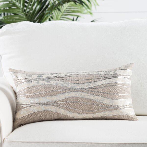 Silver Metallic Lumbar Pillow Wayfair