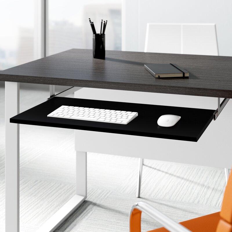 Upper Square Kadian 26 4 W X 14 7 D Desk Keyboard Tray Reviews Wayfair