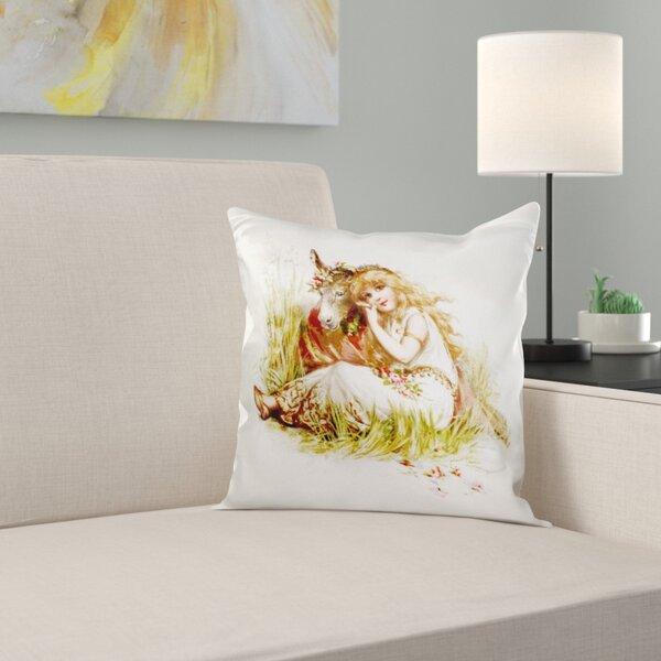 East Urban Home Brundage A Midsummer Nights Dream Pillow Cover Wayfair
