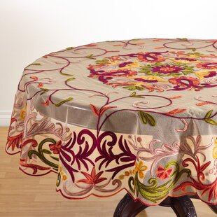 Alessandra Embroidered Tablecloth