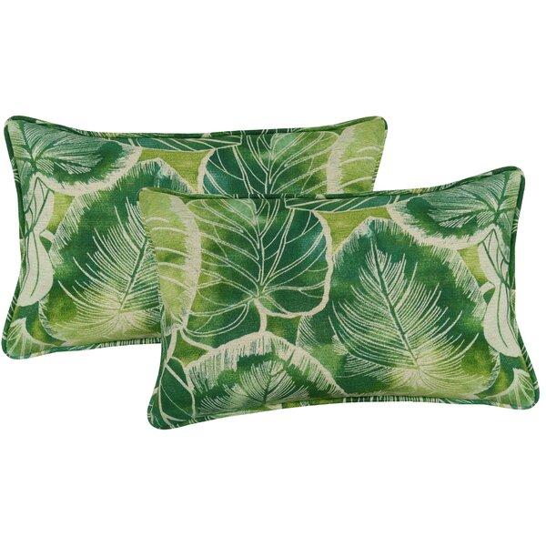 Bayou Breeze Elyssa Indoor Outdoor Lumbar Pillow Reviews Wayfair
