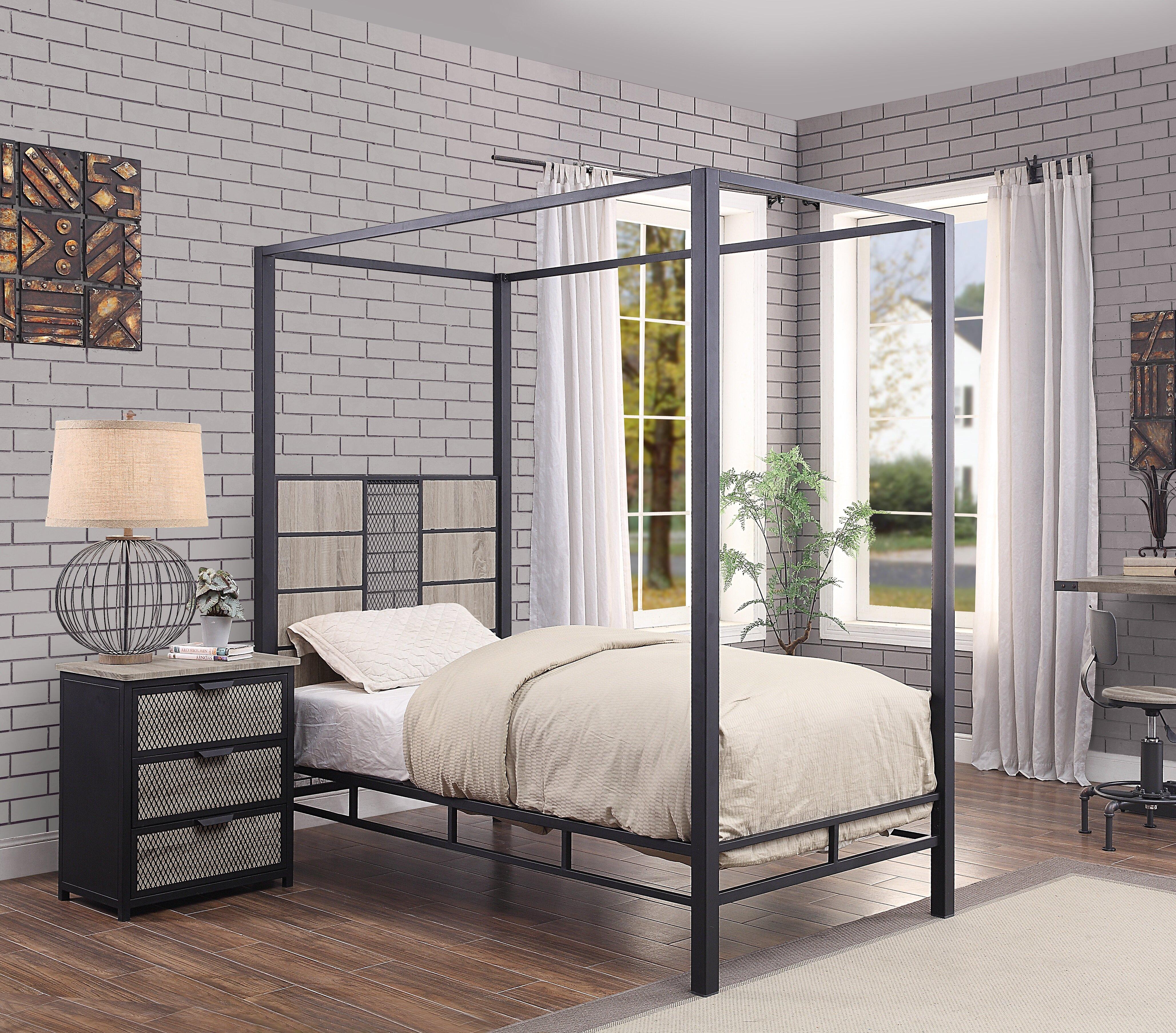 Robert Canopy Configurable Bedroom Set
