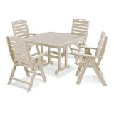 Nautical 4 Piece Dining Set