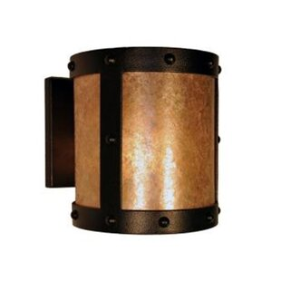 Reviews Rivets Open 1-Light Outdoor Sconce By Steel Partners
