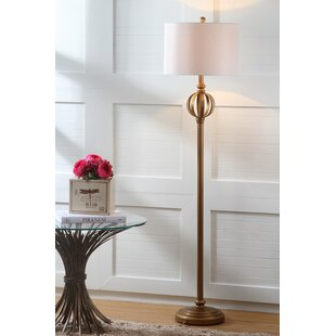 Inexpensive Babylon 61.5 LED Floor Lamp By Three Posts