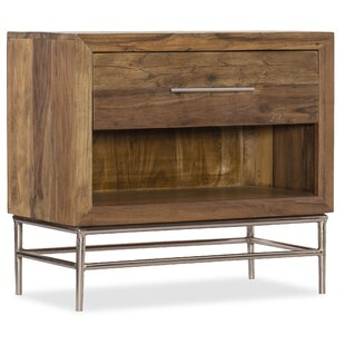 L'Usine 1 Drawer Nightstand by Hooker Furniture
