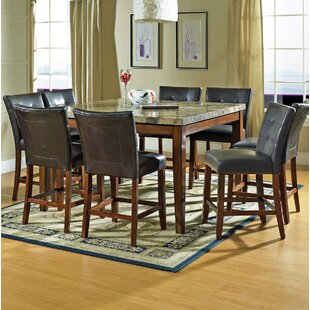 Laverty 9 Piece Counter Height Dining Set