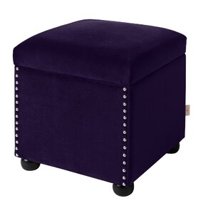 Dorey Storage Cube Ottoman by House of Hampton