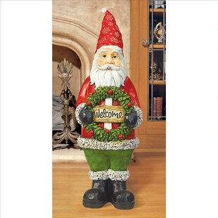 6cabbf70fbbcf Santa Welcoming Holiday Guests Statue