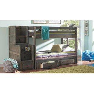 Setser Twin Over Twin 2 Piece Bedroom Set by Harriet Bee