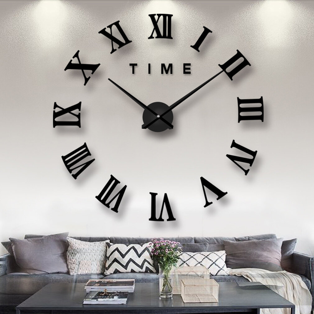 Wrought Studio Oversized Humera Diy Creative Design 32 Wall Clock Reviews Wayfair