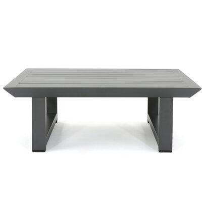Fricks Metal Coffee Table by Charlton Home