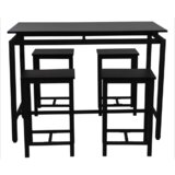Aleila 5 - Piece Counter Height Dining Set by Ebern Designs
