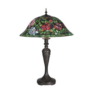Tiffany Rosebush 28 Table Lamp