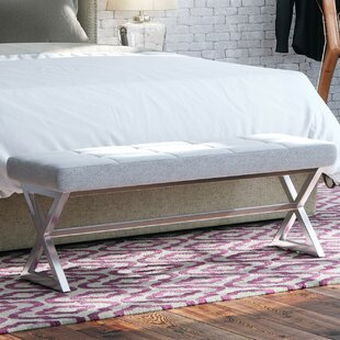 Dixon Metal Bench by Willa Arlo Interiors Top Reviews
