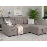 Bielawski 86 Right Hand Facing Sleeper Sofa & Chaise by Latitude Run®