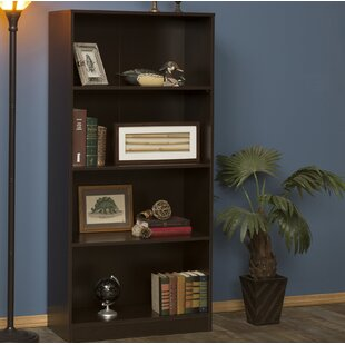 Modern Wood Standard Bookcase by Rebrilliant Today Sale Only