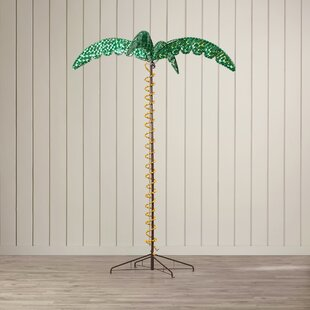 Price comparison Canova Large Palm Tree 5 ft. Rope Light By Beachcrest Home
