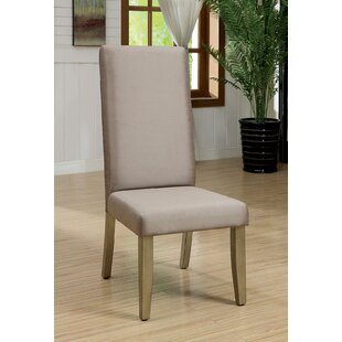 Coronel Upholstered Dining Chair (Set of 2) Mercer41