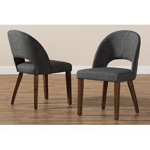 Boan Upholstered Dining Chair (Set of 2) Corrigan Studio