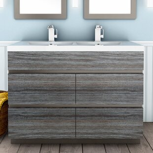 Price comparison Boardwalk 48 Double Bathroom Vanity Set By Cutler Kitchen & Bath