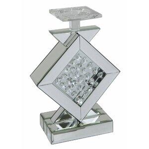 Kerzenleuchter Hexham Diamond aus Glas
